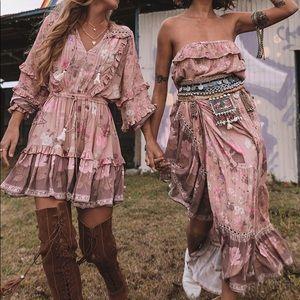 Spell Wild Bloom Strappy dress.